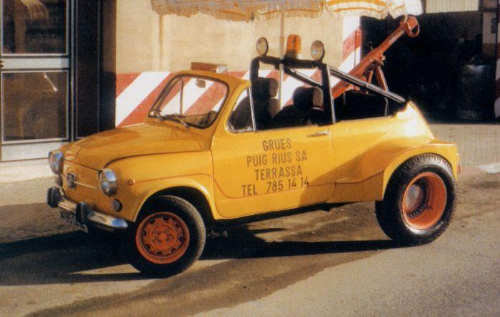 Seat 600 grúa (II)