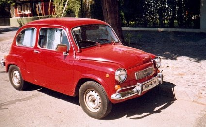 """Fiat 600 R """"Fito"""""""