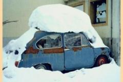 Fiat 600 helado